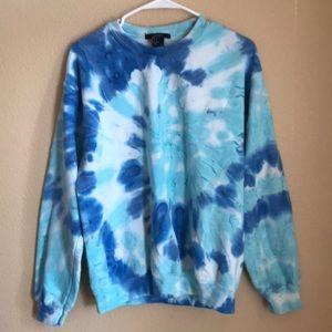 Forever 21 tie dye sweatshirt.